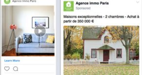 Campagnes publicitaires pour biens d'agence immobilière