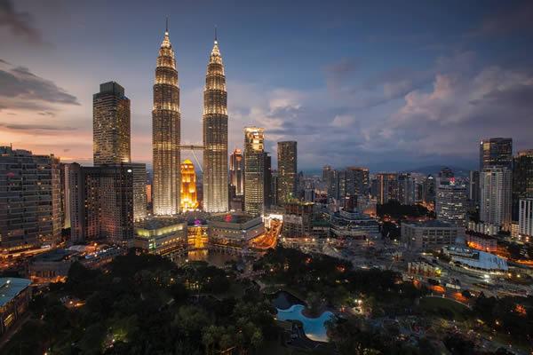 Tours Petronas de Kuala Lumpur
